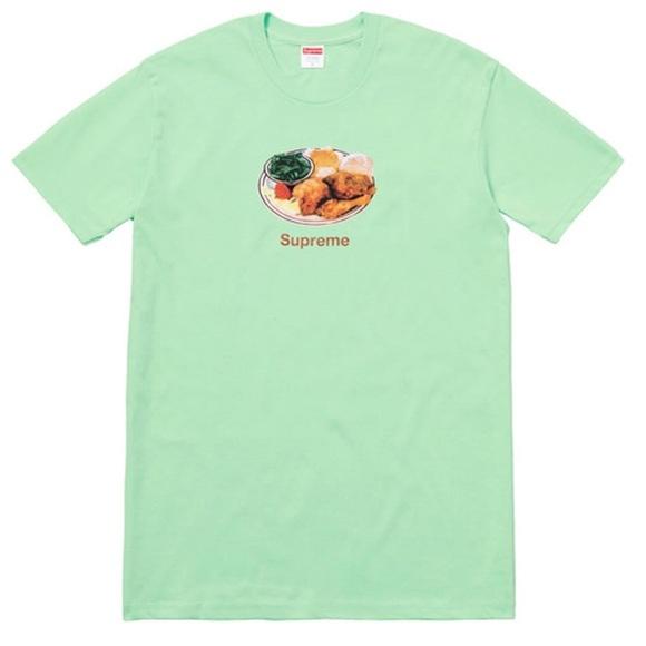 2c69b2c74dfd Supreme Shirts | Chicken Dinner Tee Mint Size Xl | Poshmark